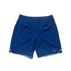 Nike Blue Premier Gladiator Tennis Shorts - L
